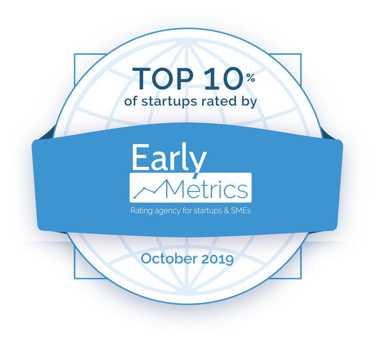 Top 10% des startups par Early Metrics