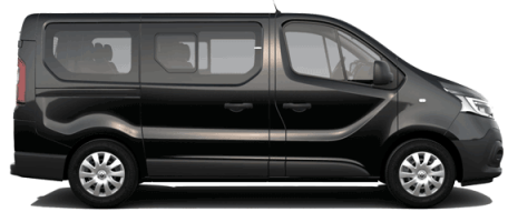 Type Volkswagen Transporter ou Renault Trafic